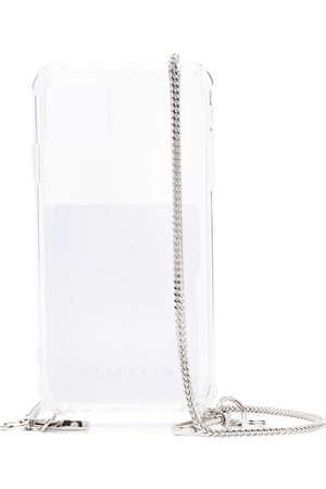 1017 ALYX 9SM IPhone 11 case with chain strap - Nude