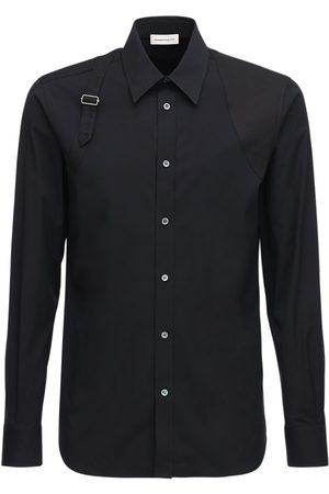 Alexander McQueen Herren Hemden - Hemd Aus Stretch-baumwolle