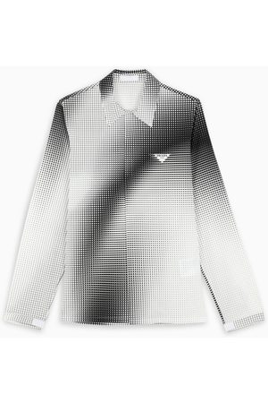 Prada Black and white Digital Square shirt