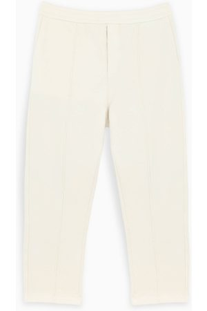 Prada Ivory jogging pants