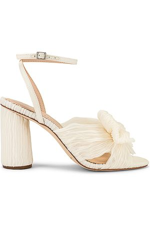 Loeffler Randall Camelia Vegan Knot Mule With Ankle Strap in . Size 5, 6, 6.5, 7, 7.5, 8, 8.5, 9, 9.5.