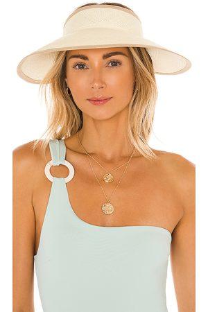 SENSI STUDIO Damen Hüte - Sonnenblende Visera mit breiter Krempe in .