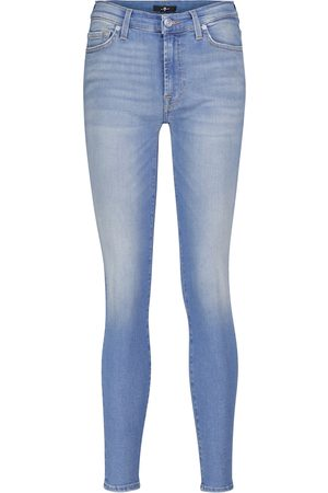 7 for all Mankind Mid-Rise Jeans Slim Illusion Necessity