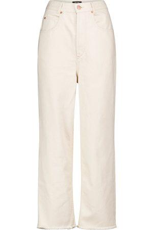 Isabel Marant High-Rise Wide Jeans Laliskasr