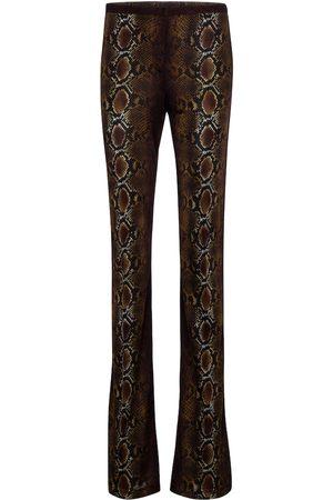VERSACE Damen Stoffhosen - Bedruckte Hose aus Jersey