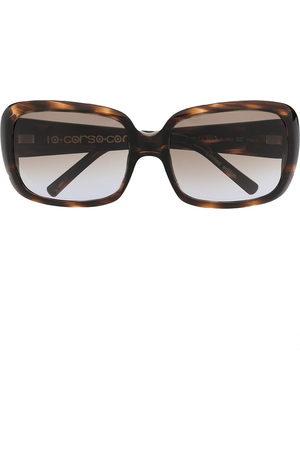 10 CORSO COMO Oversized-Sonnenbrille in Schildpattoptik