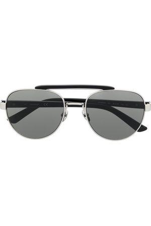Calvin Klein CK19306S aviator-frame sunglasses