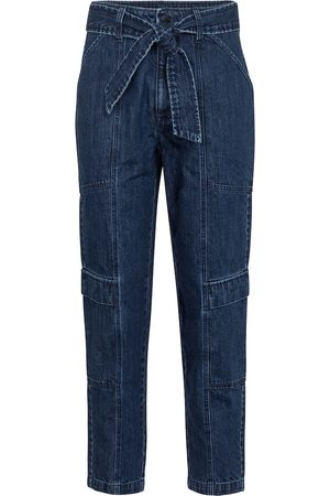 J Brand High-Rise Cropped Jeans Athena