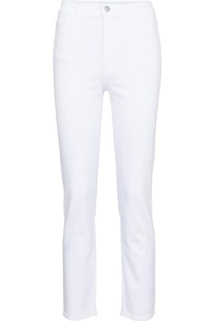 J Brand High-Rise Straight Jeans Alma