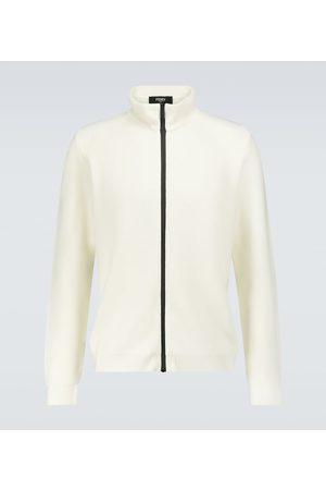 Fendi Strickpullover - Pullover aus Wolle mit Reißverschluss