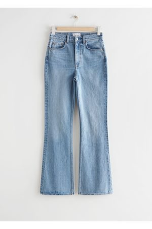& OTHER STORIES Damen Cropped - Mood Cut Jeans - Blue
