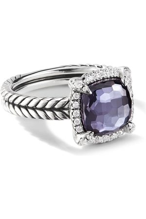 David Yurman Chatelaine diamond pavé bezel ring