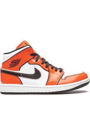 Jordan Air 1 Mid SE Turf Orange Sneakers