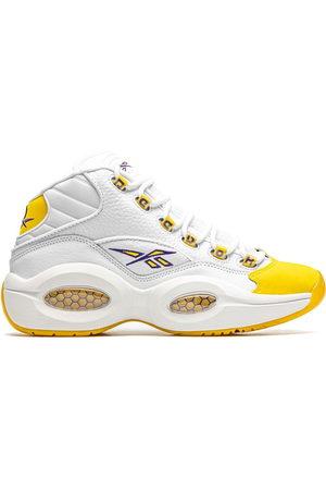 Reebok Question Mid Yellow Toe - Kobe Sneakers