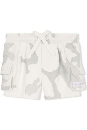 Dolce & Gabbana Camouflage print cargo shorts - Nude