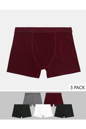 Weekday – Johnny – Boxershorts im 5er-Pack-Mehrfarbig