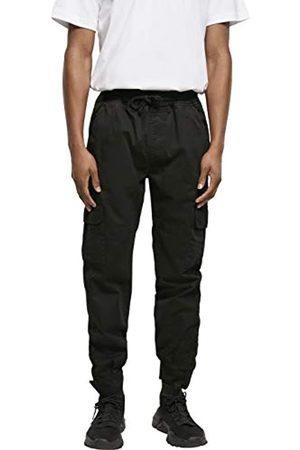 Urban classics Herren Military Jogg Pants Trainingshose, Black