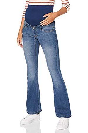 Supermom Supermom Damen OTB Flared Blue Jeans, Denim-P327