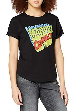 Marvel Damen Retro 3D Logo T-Shirt