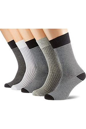 Urban classics Unisex Stripes and Dots 5-Pack Socken