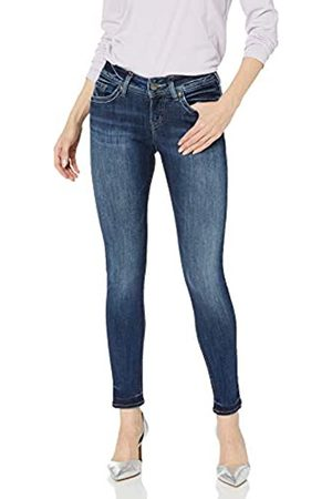 Silver Silver Jeans Co. Damen Suki Curvy Fit Mid Rise Super Skinny Jeans