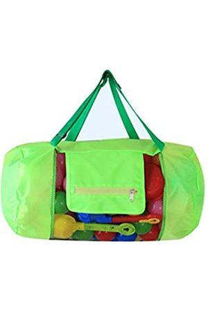 LD DRESS Extra große Netz-Strandtasche Tragetasche Rucksack Spielzeug Handtücher Sand Away