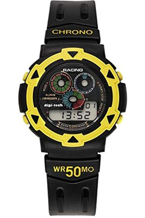 Digi-Tech Herren-Armbanduhr Chrono Race Digital Quarz Kautschuk DT102929