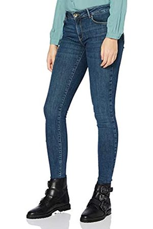 Only ONLY Damen ONLISA Life REG Skinny BB BAY346 Jeans, Dark Blue Denim