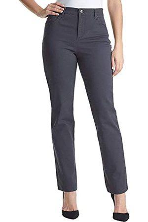 Gloria Vanderbilt Gloria Vanderbilt Damen Classic Amanda High Rise Tapered Jeans - Grau - 40 Kurz