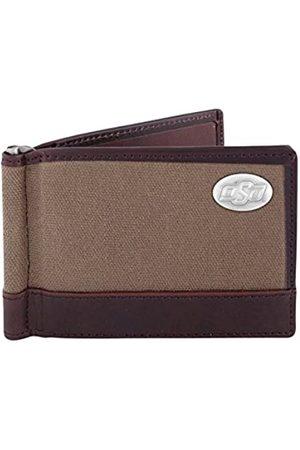 ZEP-PRO NCAA Oklahoma State Cowboys Canvas Leather Concho Razor Wallet