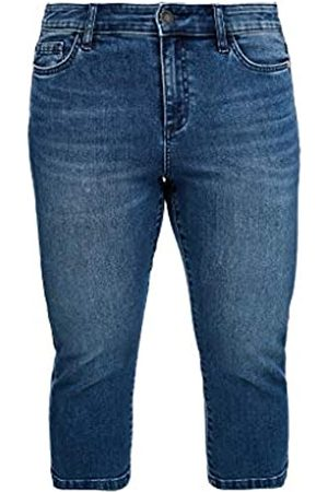 s.Oliver TRIANGLE Damen Slim Fit: Capri-Jeans 52