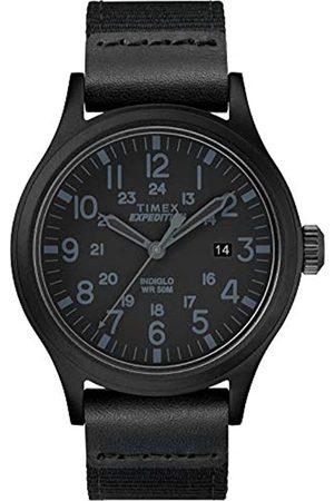 Timex Timex Herren Analog Klassisch Quarz Expedition Scout 40 mm Uhr mit Stoff Armband TW4B14200