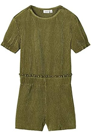 Name it NAME IT Girl Playsuit Plissee 134Loden Green