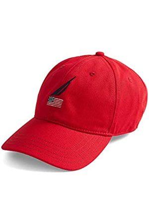 Nautica Nautica Herren Men's American Flag Logo 6 Panel Baseball Cap