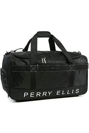 Perry Ellis Perry Ellis Herren Reisetasche Weekender mit Schuhfach (Schwarz) - PE-SD-A222