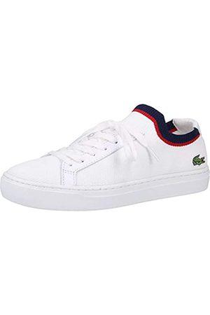 Lacoste Damen LA PIQUEE 119 1 CFA Sneaker, Blanc (Wht/NVY/Red 407)