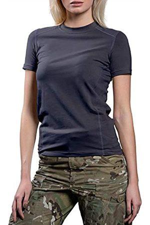 281Z 281Z Punisher Combat Line Damen-Unterwäsche-T-Shirt, Militär-Stil, Stretch, Baumwolle