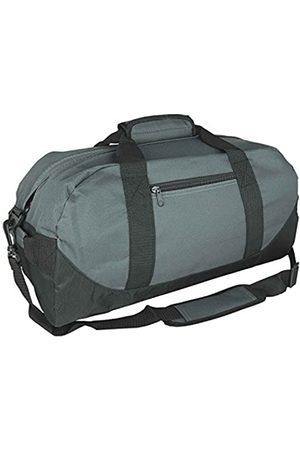 iEquip IEquip Seesack, Turnbeutel, strapazierfähig, Reisetasche, Sporttasche, zweifarbig, Grau – Medium (45,7 x 22,9 x 22