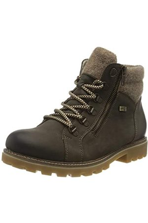 Remonte Remonte Damen D7478 Mode-Stiefel, Smoke/Wood / 45