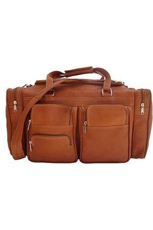 Piel Piel Leather Reise Reisetasche 50,80 cm mit Seitenfächern in