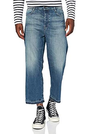G-Star G-STAR RAW Damen Straight Jeans Tedie Ultra High Waist Straight Ripped Ankle C