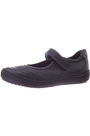 Geox J HADRIEL Girl I School Uniform Shoe, (Navy)