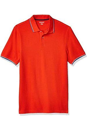 Amazon Amazon Essentials Slim-fit Cotton Pique Tipped polo-shirts