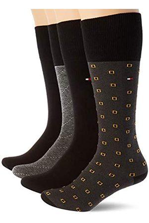 Tommy Hilfiger Mens TH TIN GIFTBOX KNEEHIGH 4P ONE ROW Socks