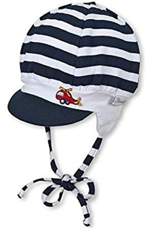 Sterntaler Baby-Jungen Schirmmütze mit Bindebändern und Ohrenklappen