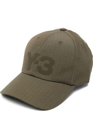 Y-3 Baseballkappe mit Logo-Print