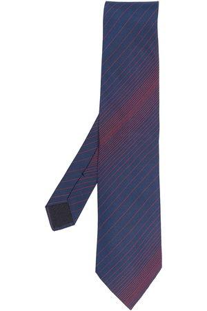 Hermès Herren Krawatten - 2000s Seidenkrawatte mit diagonalen Streifen