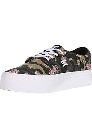 DC DC Damen Trase Platform Tx Se Skate Schuh, Mehrere (Camo White)