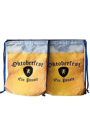 Westman Works Oktoberfest Taschenset Kordelzug Rucksack für Deutsches Bierfest Party 2 Stück