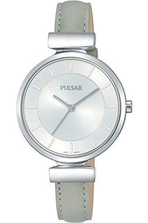 Pulsar PulsarQuarzDamen-UhrEdelstahlmitLederbandPH8415X1